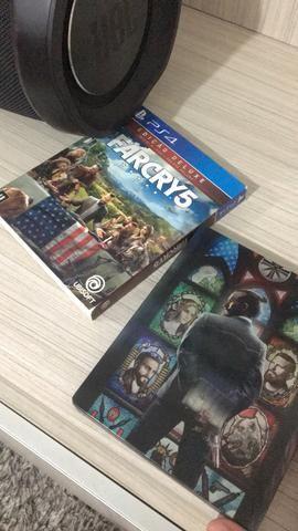 Vendo Far Cry 5 Edição Deluxe p PS4.