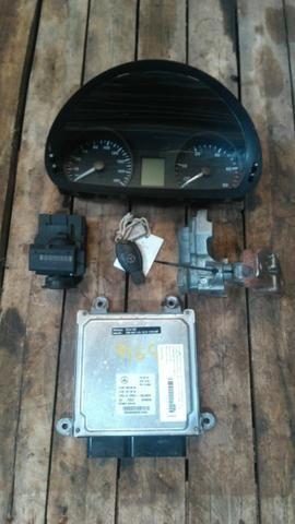 Kit com Módulo Chave Mobilizador Tranca e Painel Sprinter 515 Cód.:A6519008002