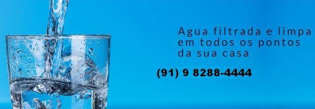 Filtro água aço inox 1000l/h para residências e máquinas de açai - Parcelo no boleto - Foto 6