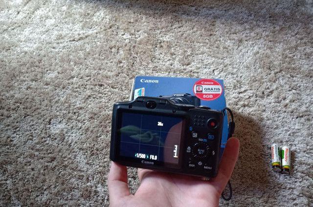 Câmera Canon sx160is Vendo ou troco  - Foto 4