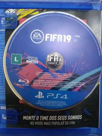 Jogos PS4 FIFA usados. - Foto 2