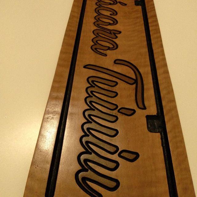 Placas de madeira personalizadas   - Foto 3