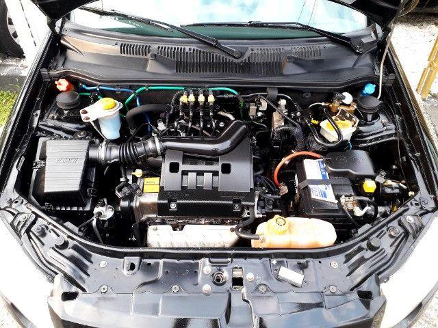 Fiat siena elx 1.4 tetrafuel - gnv original de fabrica - Foto 13