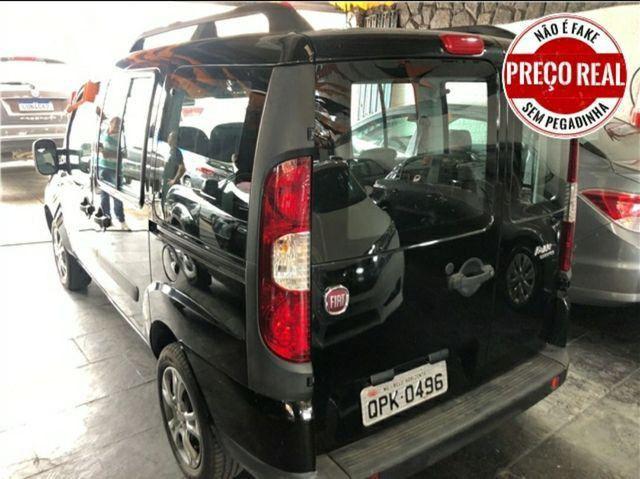 FIAT DOBLO ESSENCE 1.8/// PEQUENA ENTRADA +PARCELAS FIXAS DE R$ 965.00  - Foto 4