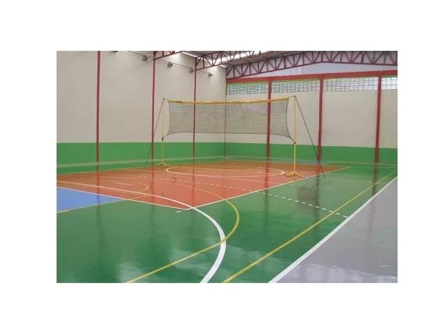 Kit Multi Sports Rede Volei Praia Campo Piscina Klopf 4011 - Foto 3
