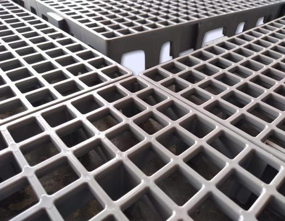 Estrado Plástico BenPlas - 50X50X4,5CM - Foto 4