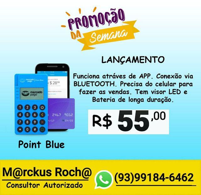 Máquininha POINT MINI BLUE - Foto 4