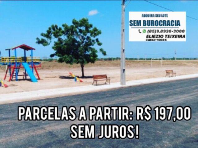 Loteamento à 10 minutos de Fortaleza com infraestrutura completo! - Foto 12