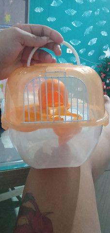 Gaiola de transporte de hamster - Foto 2