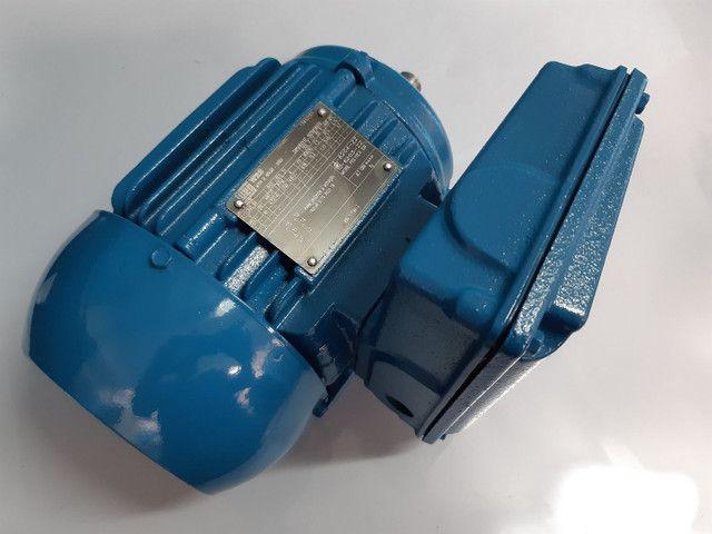 Motor monofásico 1 cv baixa rotação 1700rpm  voltagem 110/220 - Foto 2