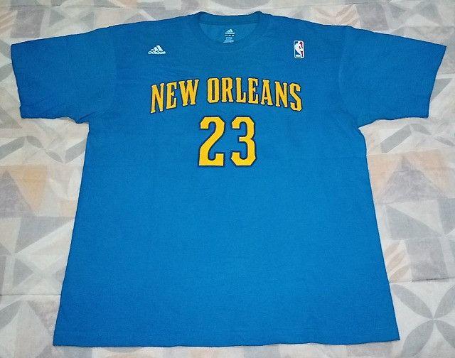 Camisa Adidas Nba Hornets Anthony Davis #23! Muito Rara!