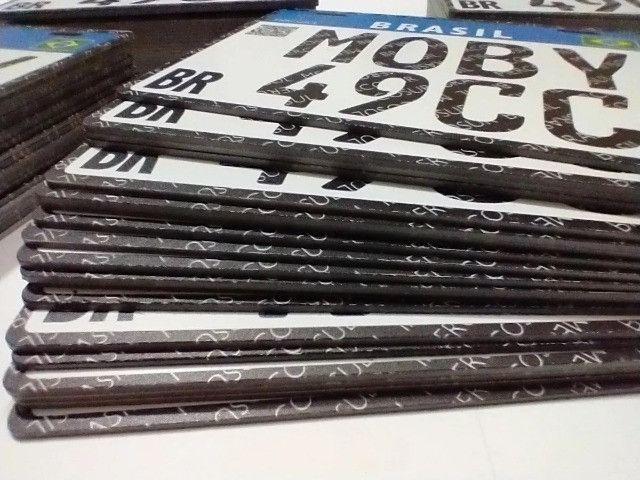 Placa Decorativa Moby 49cc - Sem alterações (Leia a descrição por favor) - Foto 9