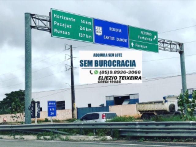 Loteamento à 10 minutos de Fortaleza com infraestrutura completo! - Foto 8