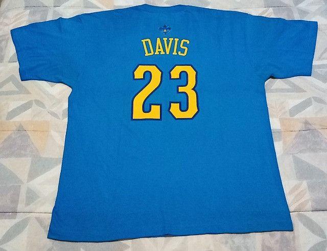 Camisa Adidas Nba Hornets Anthony Davis #23! Muito Rara! - Foto 2