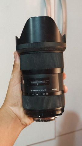 Lente Sigma 18-35mm Nikon 1.8