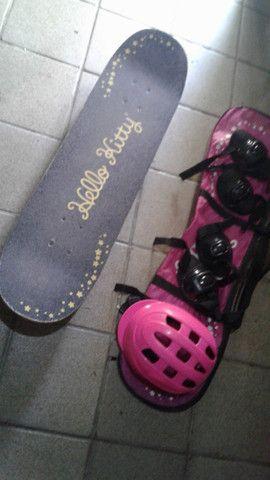 skate completo de menina - Foto 2