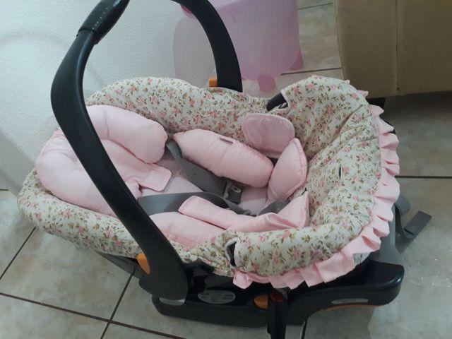 Bebê conforto e ofurô cor de rosa - Foto 5
