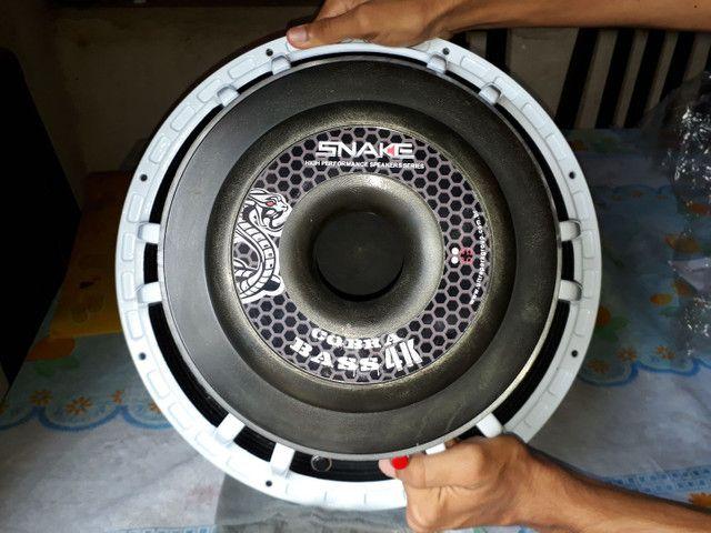 Alto falante 15 polegadas shake bass 4k 2000w rms - Foto 4