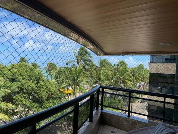 Apt beira mar de Ponta Verde, 250 m², varanda, 4 suítes, por 2.500.000! - Foto 2