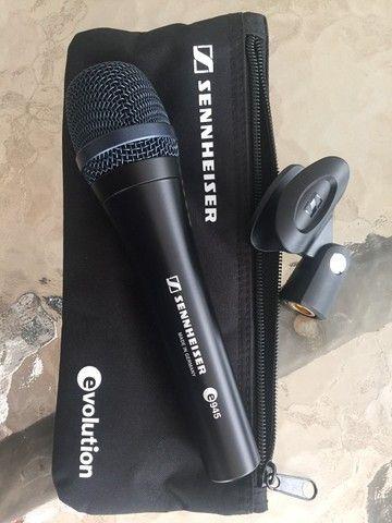 Microfone Sennheiser E-945 Supercardíoide - Original - Made in Germany - Foto 2