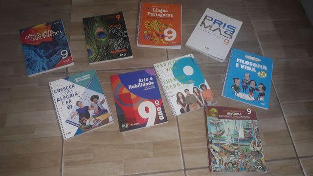 Coleção de livro do 9° ano FTD - Foto 2