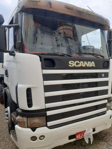 Caminhão Scania R124 ano 2001 + 1 Bitrem 2010 - Foto 5
