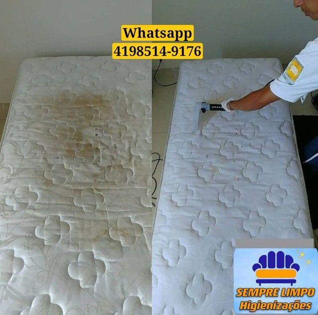 Limpeza de Colchão Sofá Cadeiras Carpete Tapete Carros - Foto 3