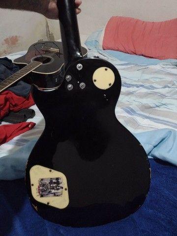 Guitarra Michael + amplificador e cabo - Foto 3