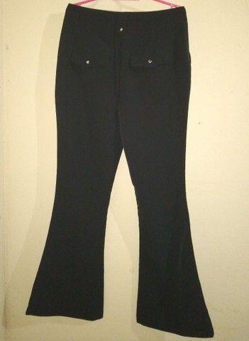 Calça social preta feminina  - Foto 2