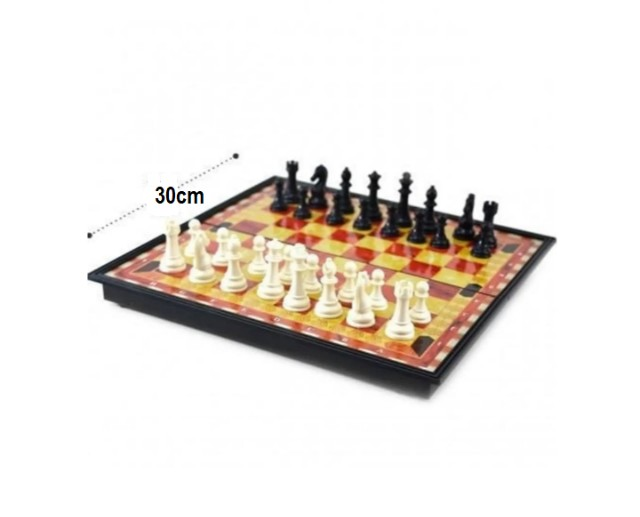 Jogo de xadrez magnético com 32 peças magnético