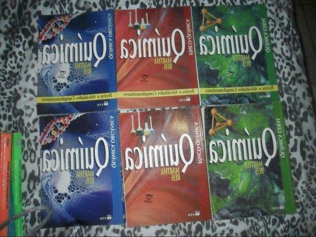 Livros de quimica Martha reis