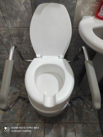 Barra de apoio para vaso sanitário  - Foto 3