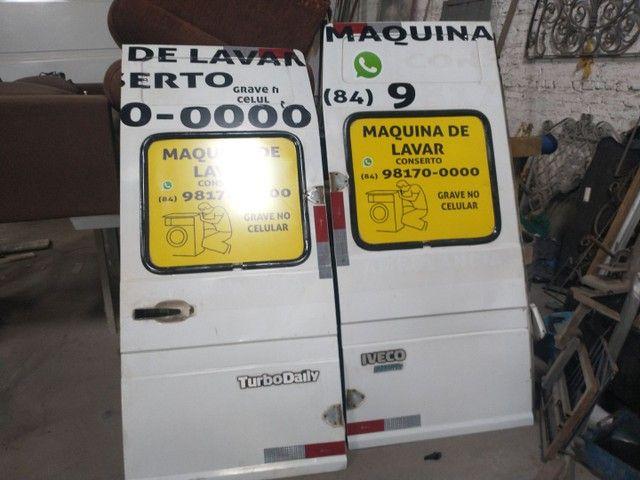 Porta da Iveco  capô grade para-choque 3510 - Foto 13