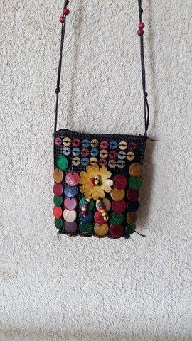 Bolsinha artesanal  - Foto 5