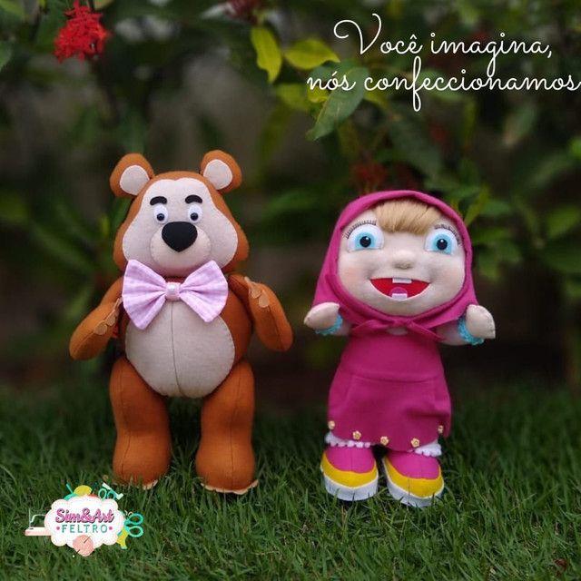 Marsha e o Urso de feltro