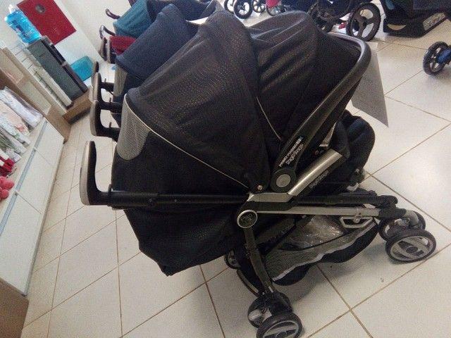 Carrinho de bebê Pliko P3 Novo - Foto 2