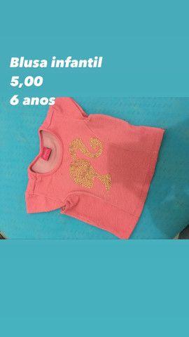 Blusas infantis  - Foto 2