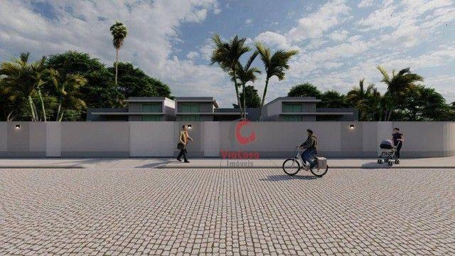 Casa Linear com 3 Quartos Sendo 1 Suíte à venda, 80 m² por R$ 280.000 - Enseada das Gaivot - Foto 9