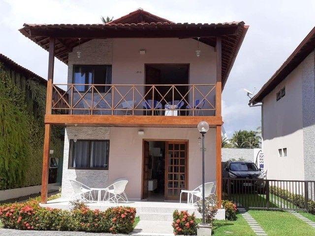 Belíssima casa muito bem mobiliada a beira mar em condomínio de luxo em Maria Farinha!