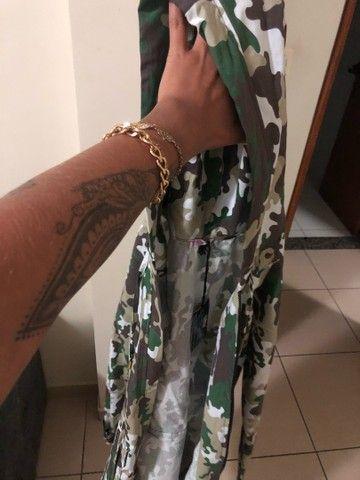 Karpa Militar feminina (SOBRETUDO) + vestido midi  - Foto 4
