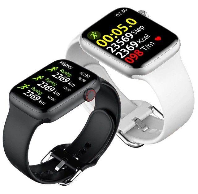 Relógio Smartwatch Iwo W46 - Foto 6