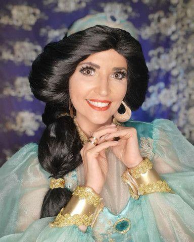 Festa Aladdin princesa Jasmine personagem vivo  - Foto 3