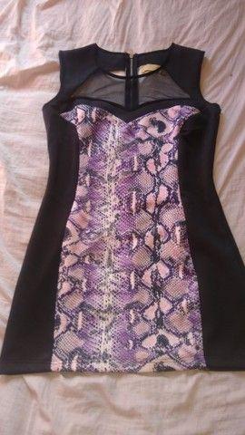 Lindo Vestido usado só uma vez,tamanho M - Foto 2