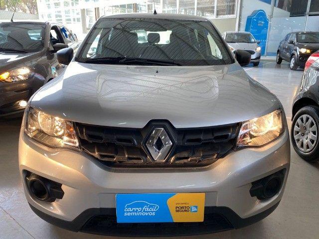 Renault Kwid 1.0 Zen 2021 -Único dono! Garantia de Fabrica! - Foto 2