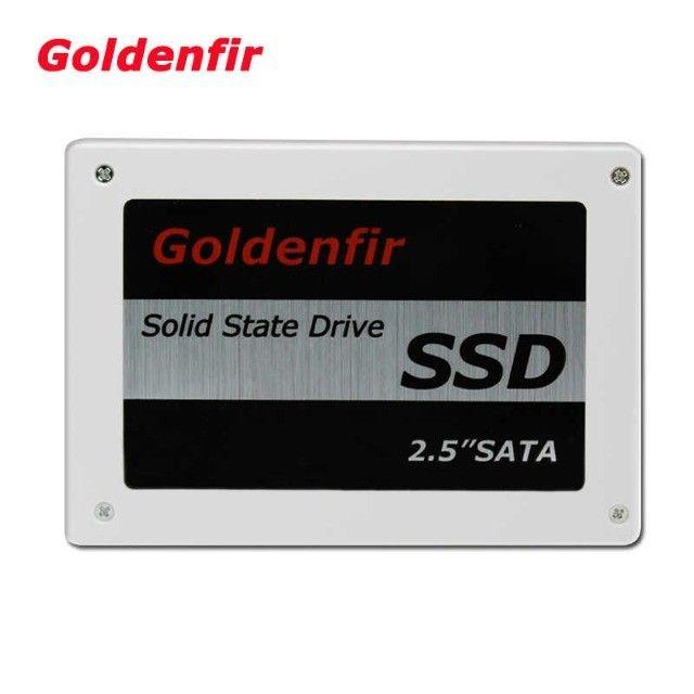 SSD 120gb Goldenfir, novo !