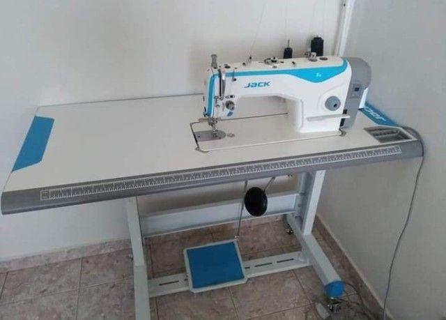 Máquina Reta Industrial Jack Novíssima - Foto 2