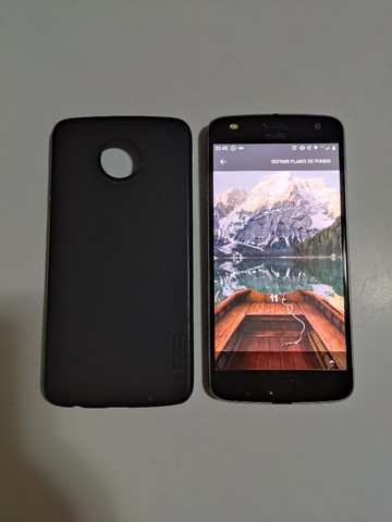 Motorola Moto Z2 Play (Usado) + Capa Nillkin