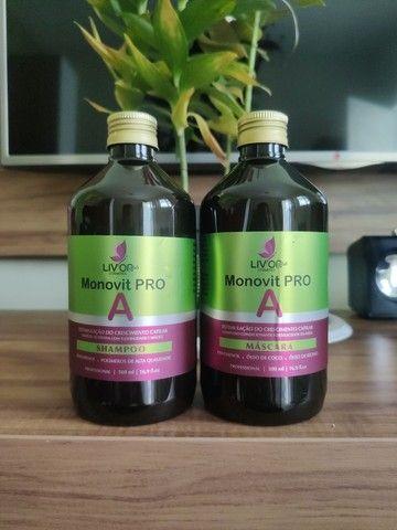 Kit Profissional Monovit Pro A - Crescimento e Fortalecimento Capilar - Foto 5