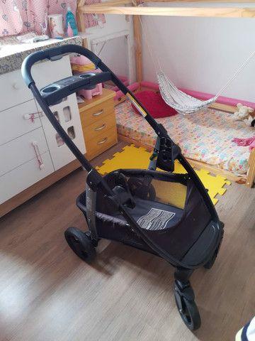 Carrinho + bebê conforto Gracco Click Conect - Foto 5