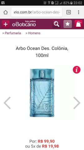 Arbo Ocean 100ml ORIGINAL
